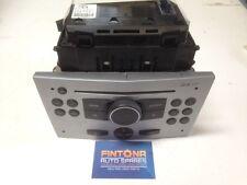 Astra H / Zafira CD30 MP3 Radio CD Player + Clock Display Kit Silver / 13154305