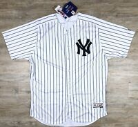 New York Yankees Majestic Authentic Giancarlo Stanton Jersey Mens Size XL 52