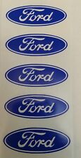 "SET (5) 2"" FORD CENTER CAP WHEEL RIM LOGO AFTERMARKET VINYL DECAL STICKER"