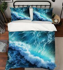 3D The Sea Spray Sea Wave Kep9299 Bed Pillowcases Quilt Duvet Cover Kay