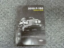 2010 Ford F150 Pickup Truck Owner Manual XL STX XLT Lariat FX4 SVT Raptor