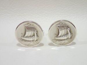 GEORG JENSEN #50 sterling silver cufflinks
