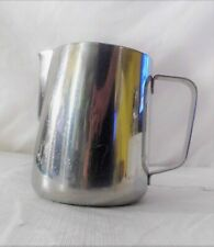 33 oz. Espresso Coffee Milk Frothing Pitcher, Stainless Steel (18/10 Gauge)