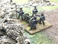 28mm artillería británica-Bien pintados napoleónicas