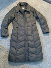 Womens Bogner Fire And Ice Down Coat Full Length Brown $659 Rtl Size 8 Eu 38