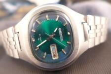 Beautiful Collectible Green Dial 38mm SS Seiko 5  Actus 7019 5010 Day/Date Auto