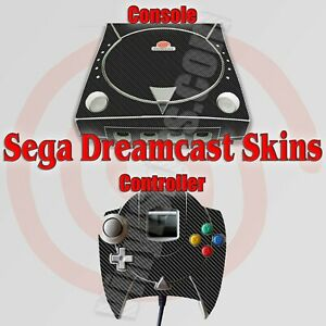 Choose Any 1 Vinyl Decal/Skin for Sega Dreamcast Console - Free US Shipping!