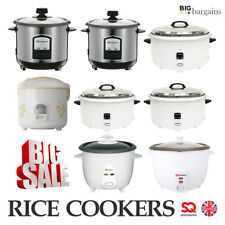 Non Stick Automatic Electric Rice Cooker Food Warmer Cook Steamer Pot 0.8 L-10 L