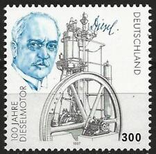 Germany 1997 MNH - Transport Centenary Diesel Engine - Rudolf Diesel Oil Engine