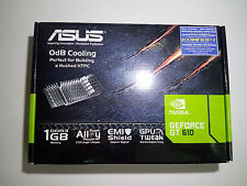 New PCI-E ASUS GeForce GT 610 SILENT 1Gb DDR3 Graphics Card GT610-SL-1GD3-L