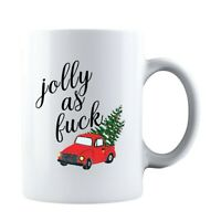 Jolly As F❤ck Ceramic Coffee Mug Tea Cup