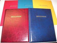 Zeugnismappe Schreibmappe Ringbuch Zeugnismappen 1