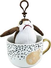 Underground Toys - Star Wars Latte Mug with Porg Plush Figure - White and Gold