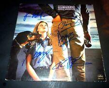 SCORPIONS~Signed~ANIMAL MAGNETISM~Record~Album~Klaus~Rudolph~Francis~Herman~Jabs
