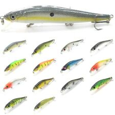 wLure 5 inch Minnow Fishing Lures Tight Wobble Slow Floating Jerkbait M262