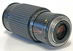 SMC Pentax-A Zoom 70-210 f/4 Telephoto Portrait Lens & UV Filter, Lens Caps