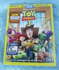 Toy Story 3 Blu-ray/DVD, 2010, 4-Disc Set, w/ Digital Copy & Slipcover