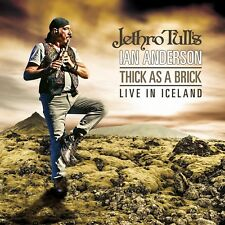 JETHRO TULL'S IAN ANDERSON - THICK AS A BRICK-LIVE IN ICELAND 2 CD NEW+