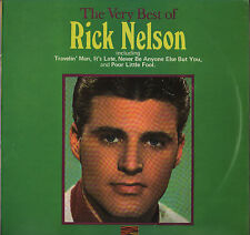 "RICKY NELSON ""THE VERY BEST OF"" U.K. LP SUNSET SLS 50164"