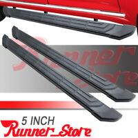 "For 2005-2021 TOYOTA Tacoma Double Cab 5"" Side Step Nerf Bar Running Board FR"
