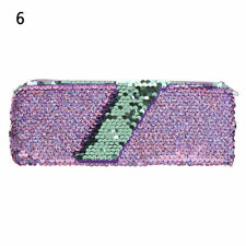Sequin Pencil Case Stationery Gift Zipper Pencil Box Cosmetic Bag Coin Purse