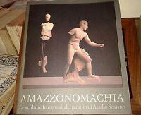 Amazzonomachia : le sculture frontonali del tempio di Apollo Sosiano - De Luca