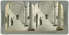 Stereo, Stereo Travel Co., Cloisters of San Martino, Naples, Italy Vintage stere