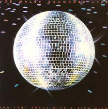 CD - Joe Walsh  - Recorded Live - #A1272 - RAR
