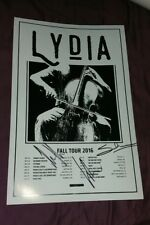 Lydia Signed Poster