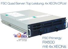QUAD server Siemens FSC PRIMERGY rx600 4x3000 Xeon 16 GB di RAM u320 RAID SCSI