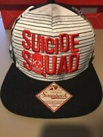 Suicide Squad MUGSHOT PHOTOS Character SnapBack Hat. Brand New. One Size Fits