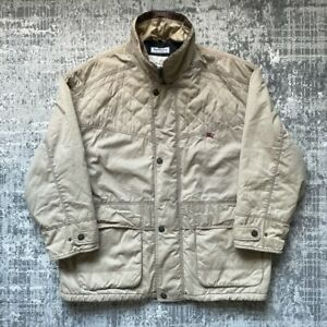 Burberry Baracuta Coat - Burberrys Of London Winter Jacket - XL - Beige - A1