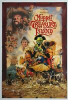"""Muppet Treasure Island 1996 Double Sided Original Movie Poster 27"""" x 40"""""""