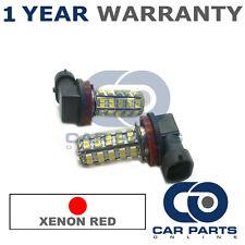 2X XENON ROT H11 60 SMD LED ABBLENDLICHT GLÜHLAMPEN FÜR HONDA CR-Z MAZDA 5 CX-5