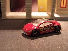 HOT WHEELS MITSUBISHI ECLIPSE POLICE CAR- DARK RED - APPROX.1:64 DIECAST