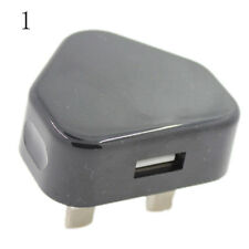 UK-Plug Mains Wall 3 Pin USB Power Adaptor Chargers For Mobile Cell Phone Tablet