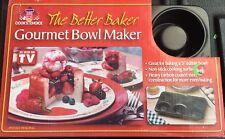 THE BETTER BAKER GOURMET BOWL MAKER   (742138061002) NEW
