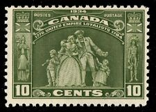 #209 Loyalists 1934 Canada mint never hinged