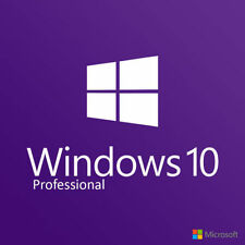 WINDOWS 10 PRO PROFESSIONAL ORIGINAL 32/64 BIT LICENSE KEY SCRAP PC