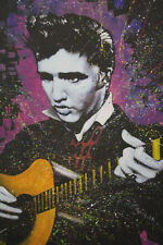 Elvis Presley print canvas old vintage artwork music singer 1950s EPS21843