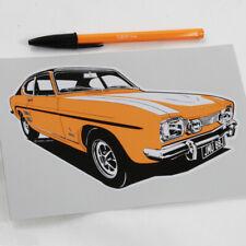 Ford Capri Mk3 2.0S Boot Decals Stickers Sport