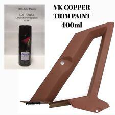 Brock HDT VK VL Calais Berlina Trim Interior Copper Plastic Spray 400ml Paint