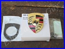 OEM Porsche 911 912 914 924 928 930 944 968 Hood Emblem Crest Logo Badge Kit NEW