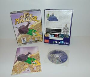 The Gene Machine The Great British Adventure   PC IBM MS Dos   CD-Rom   Big Box