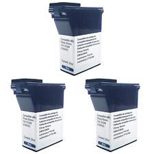 3 Pack Pitney Bowes Blue Compatible Ink Cartridge DM50 DM55 DM60 K700 K721 K722