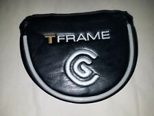 NEW Cleveland Golf T-Frame Black Mallet Putter Cover Headcover, Never Compromise