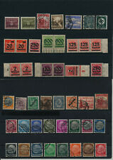 Germany, Deutsches Reich, Nazi, liquidation collection, stamps, Lot,used (EL 35)