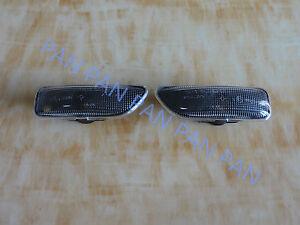 Pair Smoke Fender Side Marker Lights Turn Signal Lamp For VOLVO S60 V70 S80 XC90