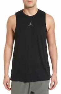 Jordan Mens 23 Tech Training T-Shirt Black/Anthracite