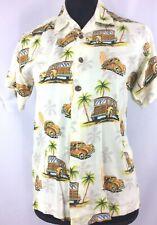 Vintage Boy Thumbs Up  Woody  Hawaiian Button up Shirt Size Medium